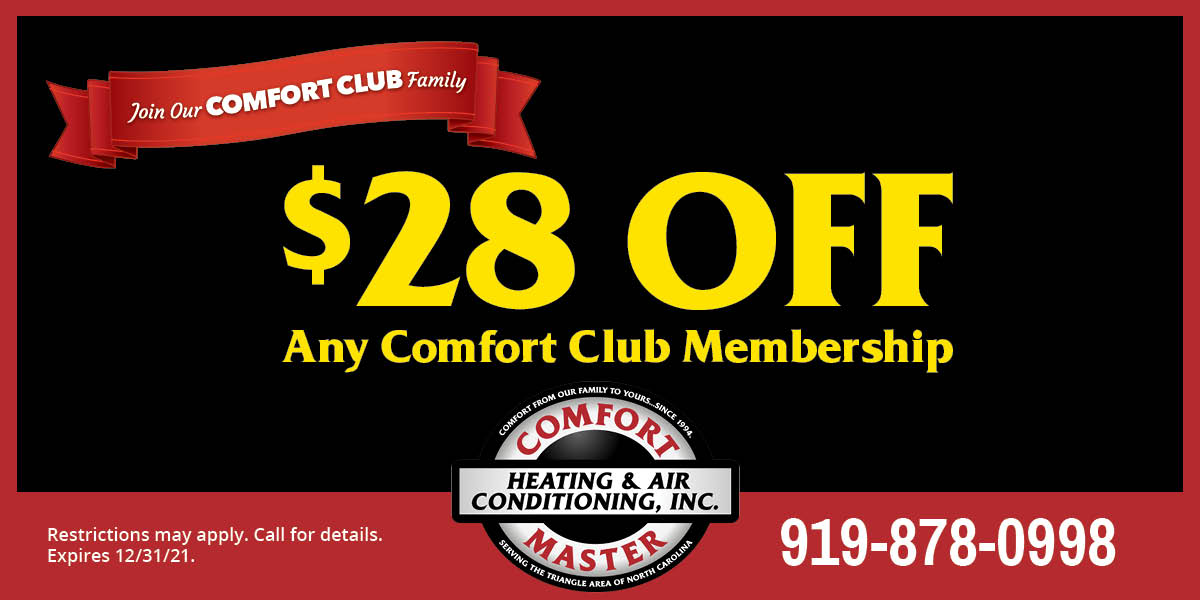 special offer from Comfort Master